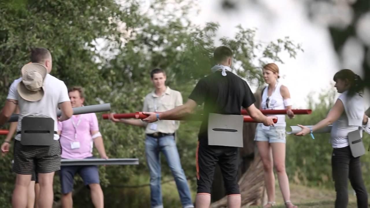 """Тимбилдинг """"3 стихии"""" Havi Logistics 2013 0 Иван Егоров"""