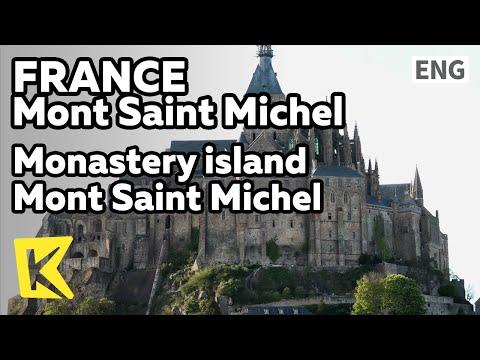 【K】France Travel-Mont Saint Michel[프랑스 여행-몽생미셸]수도원의 섬 몽생미셸/Monastery island/Holy place/UNESCO