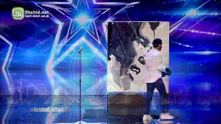 Arabs Got Talent – مرحلة تجارب الاداء -  شريف وليم - مصر