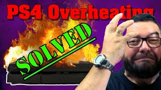 How To Fix Ps4 Overheating Problem : ZERO COST