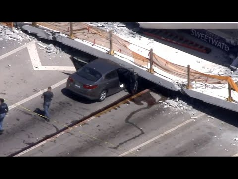 Pedestrian Bridge in Miami Collapses