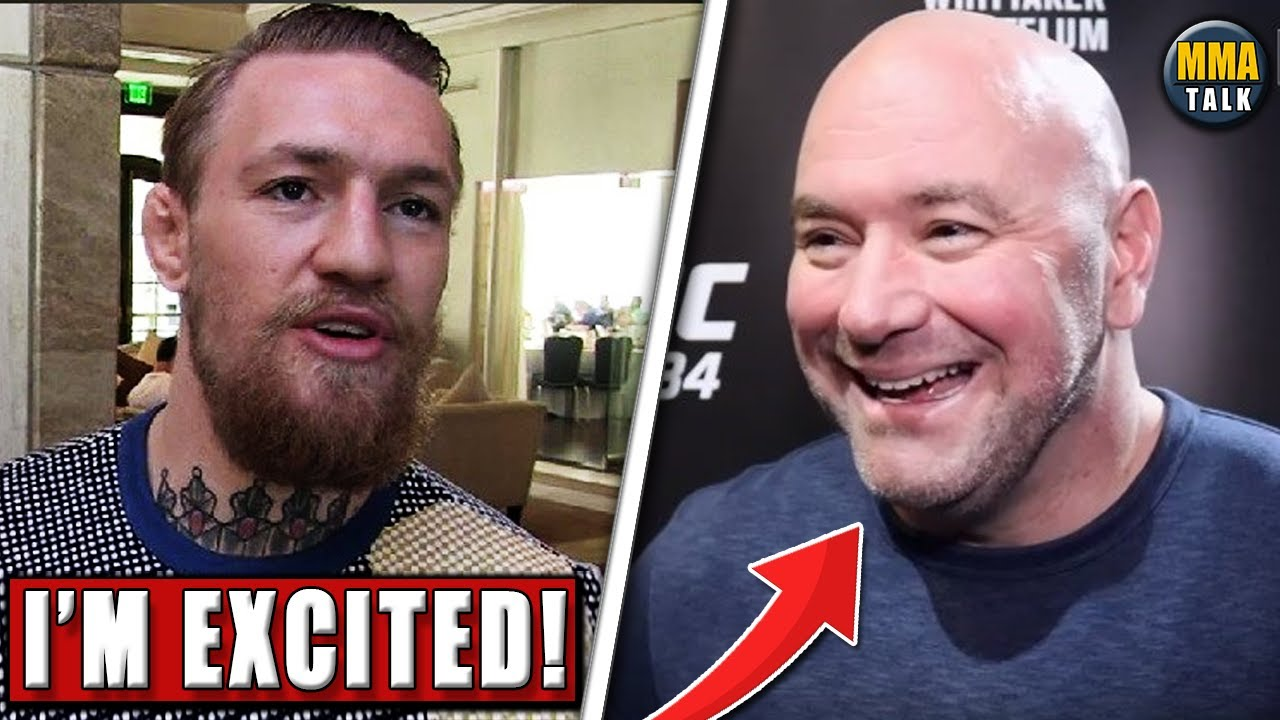 Conor McGregor RETURNS to MMA, Dana White reveals why Ferguson won't compete at UFC 254, Chandler