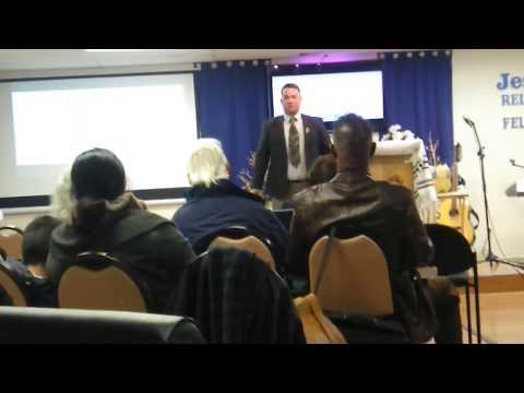Jesse Charo at Seek Jesus First Ministries Las Vegas NV