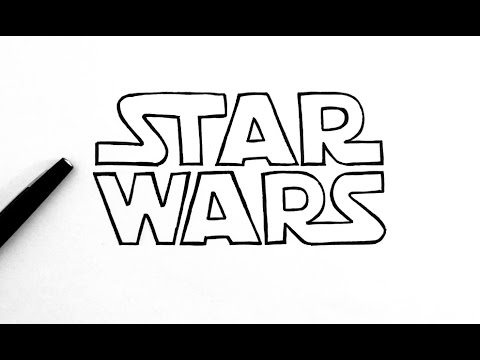 How To Draw Star Wars Logo