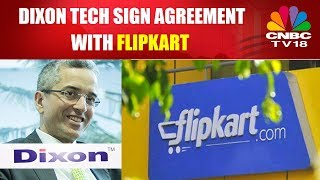 Dixon Tech Sign Agreement With Flipkart | Half Time Report | 11th Oct 2017 | CNBC TV18