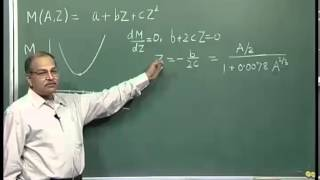 Mod-01 Lec-08 Semi empirical Mass Formula Cont..