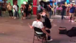 Las Vegas: The Game - Dancer Accidentally Pees on a Bystander in Vegas