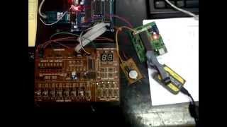Demo Proyek Mikroprosesor (Serial, RTC, 7segment)