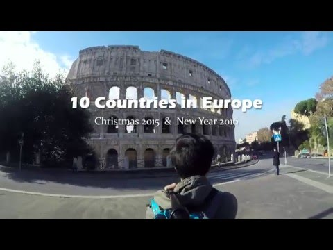 GoPro: Travel to Europe - Winter Trip