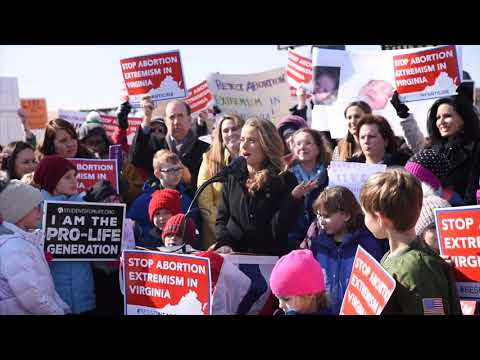 Proposed Virginia abortion law draws hundreds to Fairfax County rally Mp3