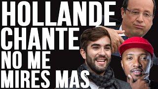 François Hollande chante No Me Mirès Màs de Kendji Girac & Soprano