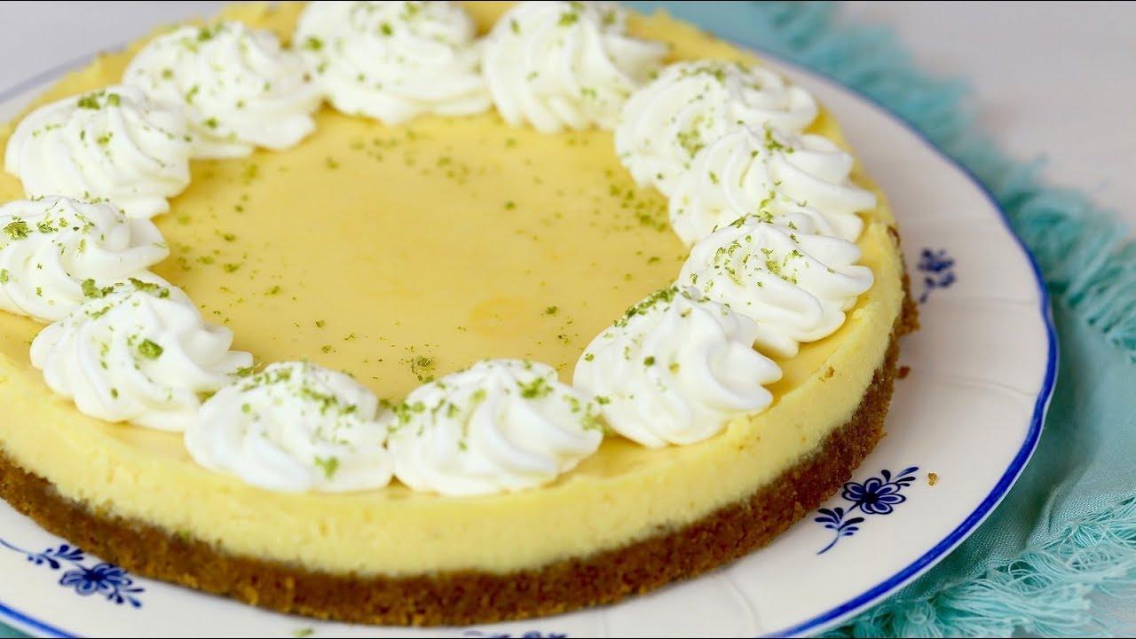 KEY LIME PIE recipe – Cách làm bánh PIE CHANH XANH