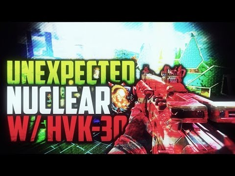 "Black Ops 3 - UNEXPECTED ""NUCLEAR"" w/ HVK-30! - FUNNY NUCLEAR REACTION! (BO3 Live Nuclear)"