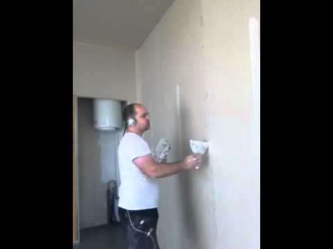 Reboucher un trou dans un mur doovi - Enlever cheville placo ...