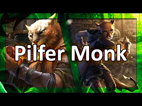 (TES: Legends) Pilfer Monk Laddering - Master of Thieves Combos!
