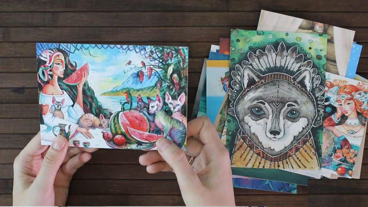 Нарисовать, ориана кард магазин почтовых открыток