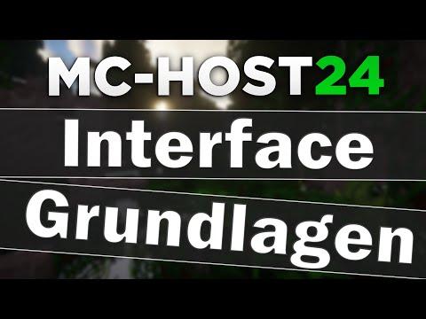 Grundlagen Zum MCHostde ServerInterface Grundlagen Дом - Minecraft spieler entbannen