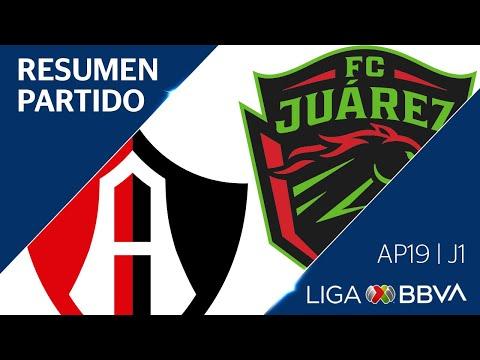 Resumen y Goles | Atlas vs Juárez | Liga BBVA MX - Apertura 2019  - Jornada 1