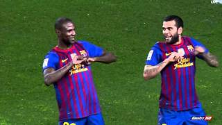 Dani alves amazing goal! barcelona 2-2 real madrid hd