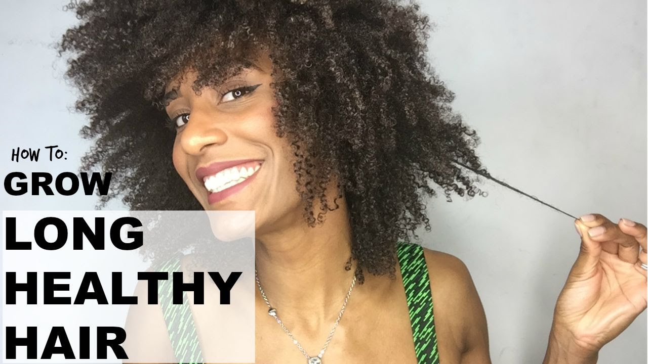 how to grow healthy afro
