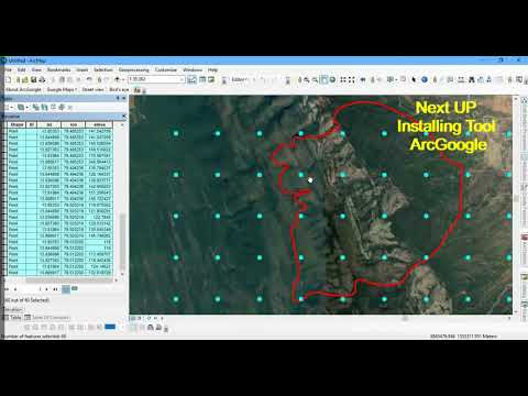 Download Elevation Datasets from ArcGIS Using ArcGoogle Tool