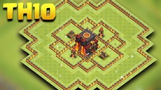 Town Hall 10 Hybrid Base | COC TH10 Farming Base NEW 2017 | Clash Of Clans