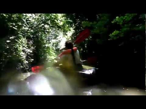canoeing the Swift ditch Abingdon on the thames