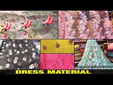 Dress Material, FAbric & Designer\\ Banaras, Silk, Creap, ti