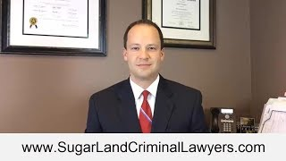 Sugar Land Criminal Defense Lawyer - Fort Bend DWI Attorney (281) 720-8551