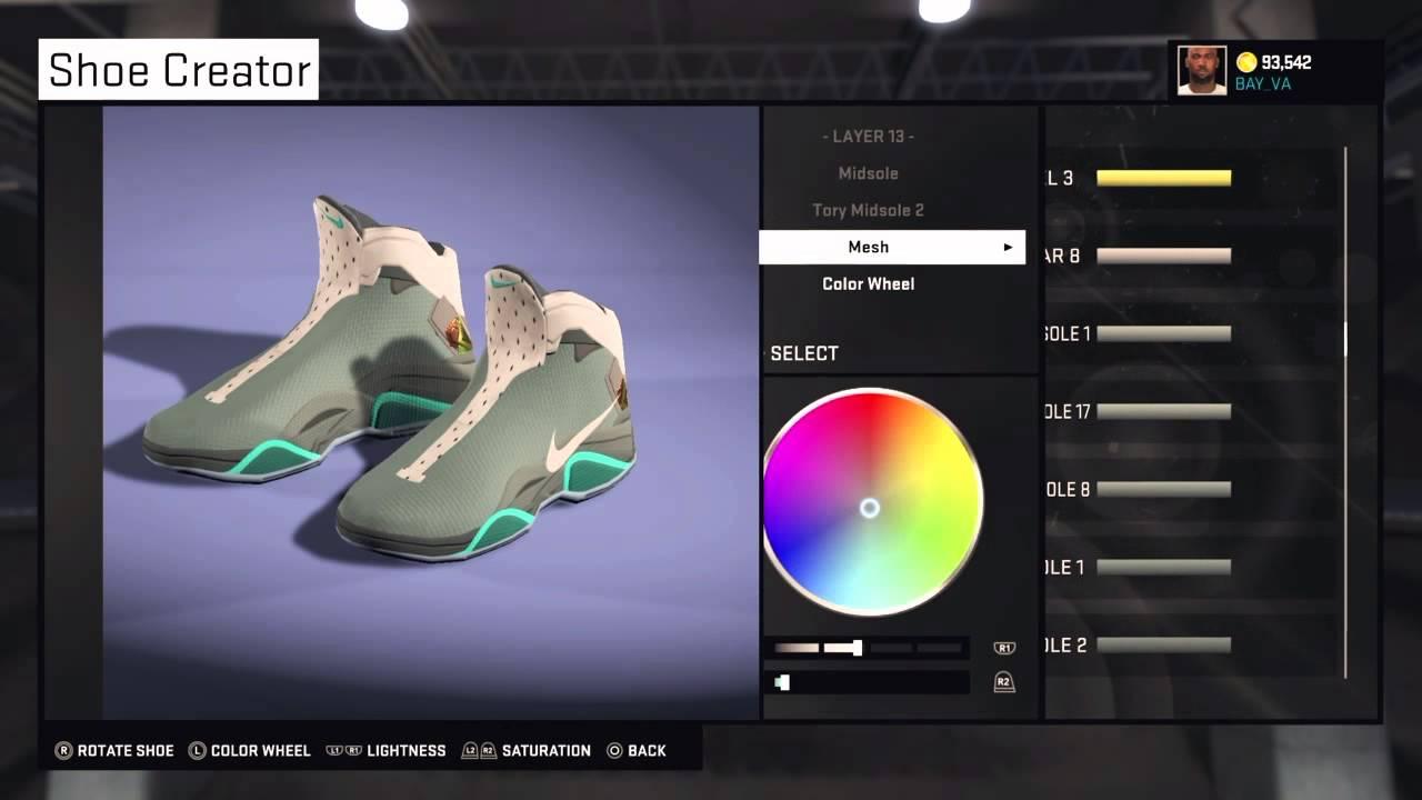 NBA 2K15 Shoe Creator - Nike Air Mag 2K15