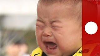 Видео: в Японии провели конкурс плачущих детей