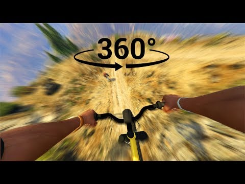 Downhill Racing In Virtual Reality - GTA VR 360°