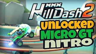 UNLOCKED 🔥MICRO GT🔥 | MMX HILL DASH 2 | HOW TO GET NITRO IN GAME 😉 - BY PRESTIGE | HUTCH GAMES