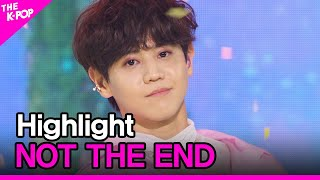 Highlight, NOT THE END (하이라이트, 불어온다) [THE SHOW 210511]
