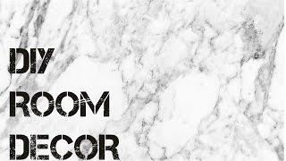 D.I.Y. Cheap & Girly Room Decor Ideas! Thumbnail