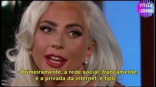 Lady Gaga fala sobre os boatos de estar apaixonada pelo Bradley Cooper e o Oscar (Legendado)