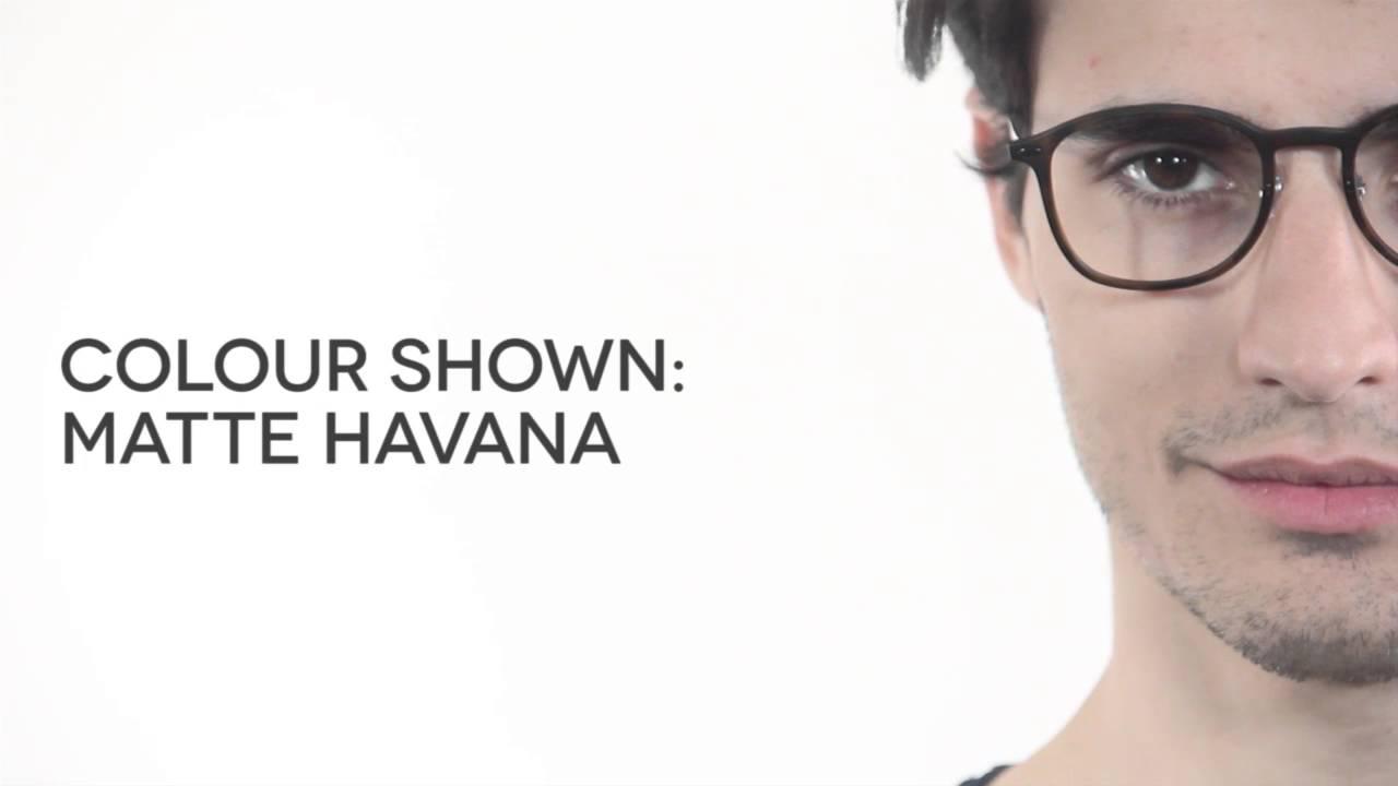 6b5991a0a Ray-Ban Tech RX7051 Light Ray Eyeglasses Review | SmartBuyGlasses ...