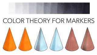 Color Theory for Marker Illustrations