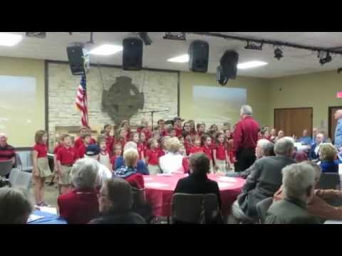 ATHENS CHRISTIAN ACADEMY performs SALUTE TO THE ARMED FORCES