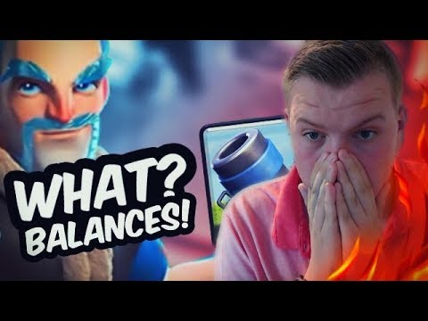 ICE WIZARD = NEW META?! NEW BALANCES CHANGES with CWA! - Clash Royale