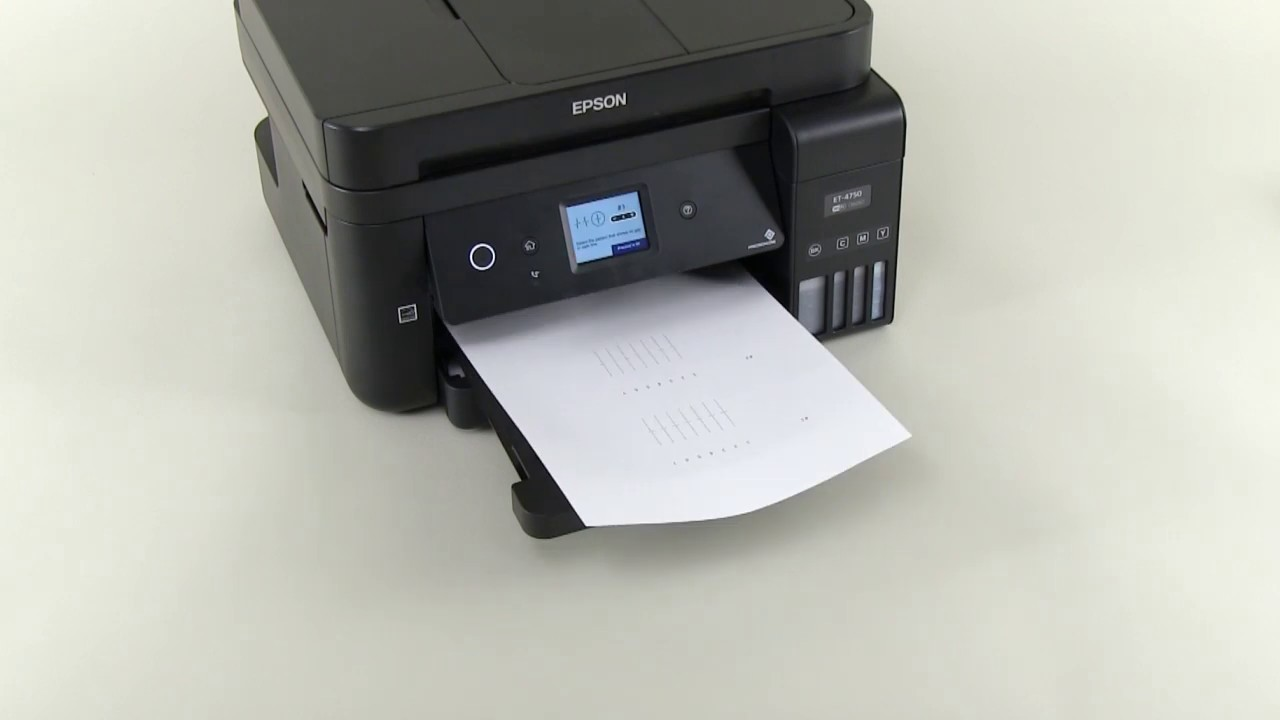 Unpacking And Setting Up A Printer Epson L6190 Et 4750 Npd6171 Youtube