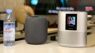 Khui hộp loa thông minh đến từ Mỹ là Bose Home Speaker 500 và so nhanh với Apple HomePod