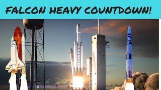 SpaceX Falcon Heavy Countdown!