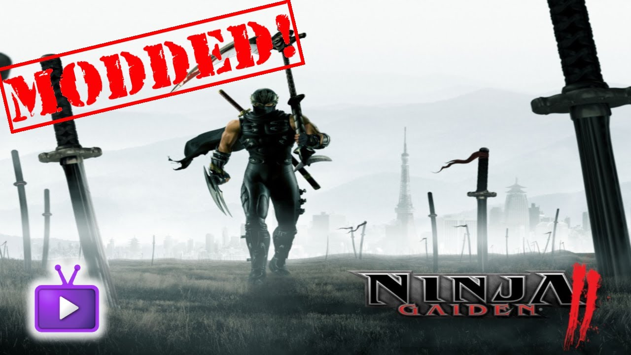 Ninja Gaiden 2 Mods Maxed And Unlimited Items Ft Wizard Hax Way Youtube