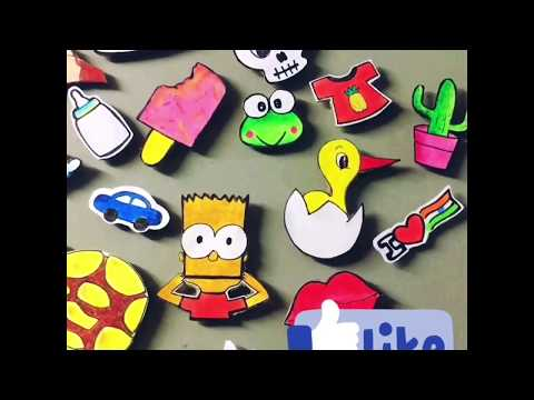 DIY Fridge Magnets | Simple to Make | Attractive to Look