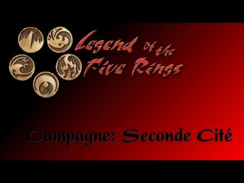 JDR- L5R - Campagne Seconde Cité - Épisode 60 - Law & Order