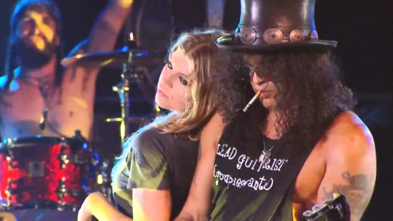 Slash feat Fergie Sweet Child O Mine 1080p.mp4 - YouTube