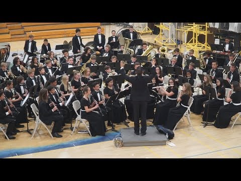 Temecula Middle School Symphonic Band 5-1-2018 at TVHS