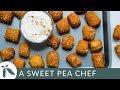 Sweet Potato Soft Pretzel Bites (with Sweet Potato Dough!)   A Sweet Pea Chef