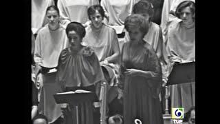 Mozart. La Clemenza di Tito. Teresa Berganza. Madrid 1976. Part 1 of 2.